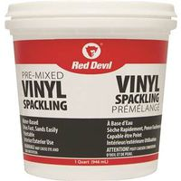Red Devil 00133CA Pre-Mixed Spackling Compound