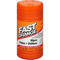 Fast Orange Hand Cleaner Wipes, 72 Pk