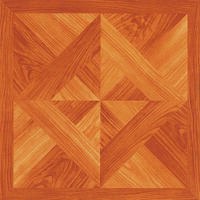 Vinyl Floor Tile, Wood Cross Weave