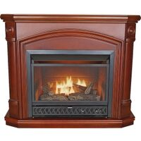 Dual Fuel Gas Fireplace, 26,000 Btu Coffee