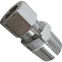 "MIP Straight Supply Connector, 3/8"" x 3/8"""