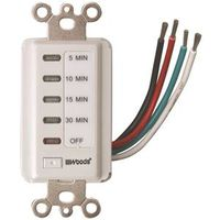 Woods 59007 Countdown In-Wall Timer