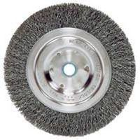 Weiler 36064 Coarse Grade Narrow Face Crimped Wire Wheel Brush