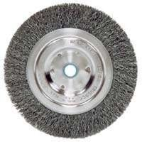 "Crimp Wire Wheel Brush, 5"" X-Coarse"