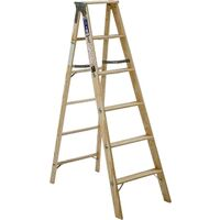 Type 1 Wood Step Ladder, 6'