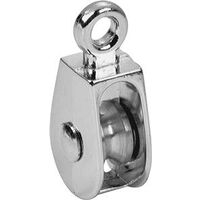 Single Rigid Pulley, 1/2""