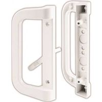 HANDLE SET SLIDING DOOR WHITE