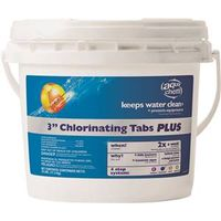 BioLab AquaChem 41025AQU Chlorinating Tablet Plus Pool Chemical
