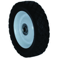"Diamond Tread Lawn Mower Wheel, 7"" x 150"