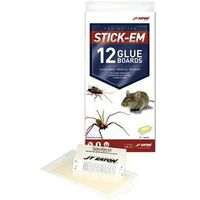 TRAP GLUE MOUSE/INSECT 12PK