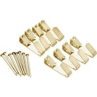 Picture Hangers, 20 Lb Brass