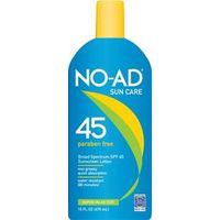 NO-AD SPF45 SUNBLOCK LOTION 16
