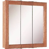 Foremost Diplomat CC-2424 3-Door Mirrored Tri-View Medicine Cabinet