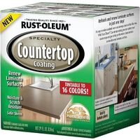Rustoleum Counter Top Tint Base Kit, 1 Qt Satin