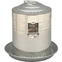 LITTLE GIANT 9835 GALVANIZED DOUBLE WALL POULTRY FOUNTAIN 5 GALLON