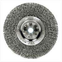 Weiler 36406 Coarse Grade Crimped Wire Wheel Brush
