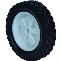 "Plastic Offset Hub Lawn Mower Wheel, 7"" x 150"