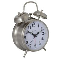 Key Wound Alarm Clock, Brass