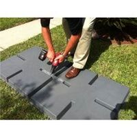 36X36X3 LIGHTWEIGHT PLASTC EQUIPMENT PAD