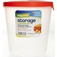 TALL ROUND FOOD CONTAINER, 85OZ