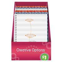 NOTEBOOK SPIRAL 60 SHEETS