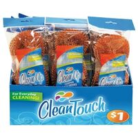 CLEANING COPPER SCOURER, 3PK
