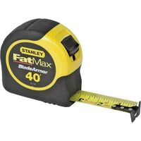 "Stanley FatMax Tape Measure, 1 1/4"" x 40'"
