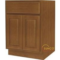 Randolph B24RT-B Double Door Wide Base Kitchen Cabinet