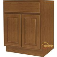 Randolph B27RT-B Double Door Wide Base Kitchen Cabinet