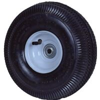 Pneumatic Sawtooth Tread Lawn Mower Wheel