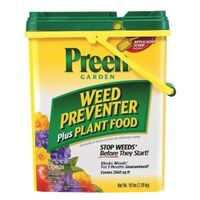 Preen Weed Preventer Fertilizer with Brilliant Bloom, 16 Lbs