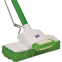 Lysol 57045CAN Dual Action Sponge Mop With Scrubber and Brush