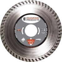 Turbo Rim Diamond Blade, 7""