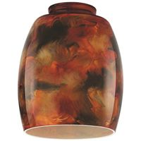 Westinghouse 8131100 Fire Pit Handblown Light Accessory Shade