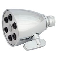 Six Jet Stream Shower Head, Chrome