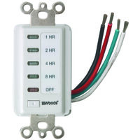 In-Wall Digital Timer, 8-hour