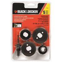Black & Decker 71-120 Assortment Hole Saw Set