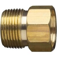 "Hose Connector, 3/4"" M x 3/4"" F"