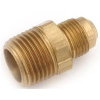 Anderson Metal 754048-0404 Brass Flare Connectors