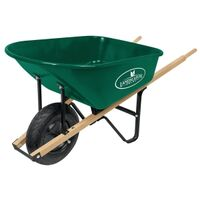 Light Duty Steel Wheelbarrow, 6 Cu'
