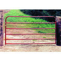 "Tubular Rail Gate, 50"" x 14'"