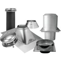 Ceiling Support Kit, Flat 8""