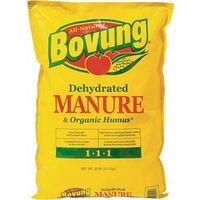 All Natural Bovung Dehydrated Manure, 25 Lbs