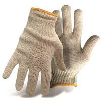 GLOVE POLY/COTTON REVERS GRAY