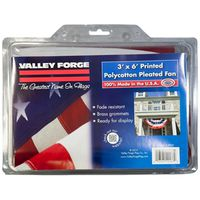 Valley Forge PFF-ST Pleated Full Fan Flag with Star and Stripes