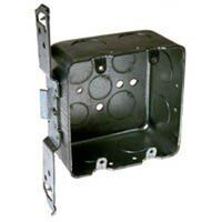 """Two Gang Switch Box with Bracket, 3/4"""" Knockout"""
