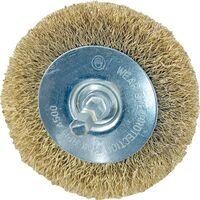 "Wire Wheel Brush, 4"" Fine"