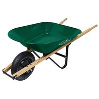 WHEELBARROW STEEL TRAY 4 CU FT