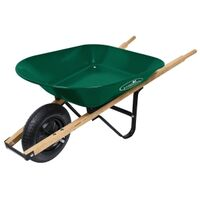 Steel Wheelbarrow, 4 Cu'