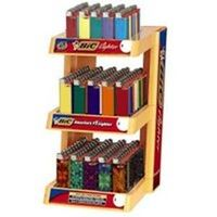 Three Tier Lighter Display, 150 pcs